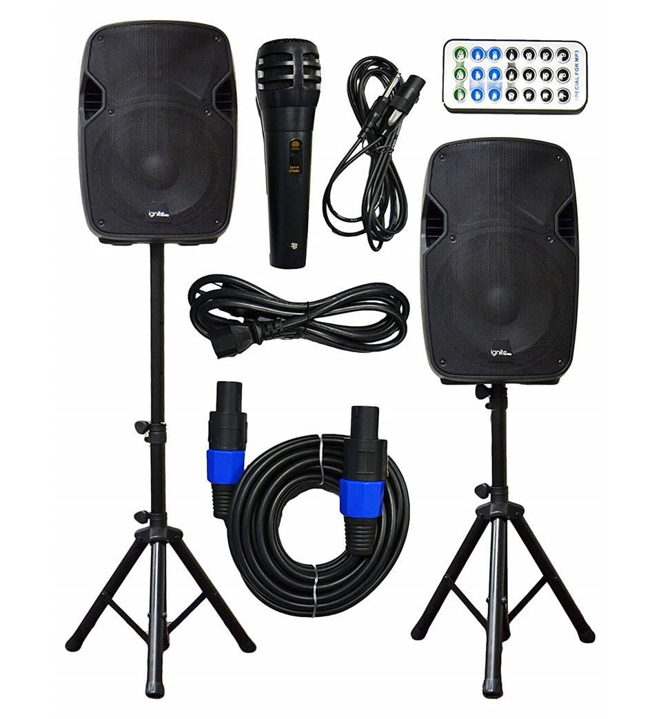 Ignite Pro DJ Speakers