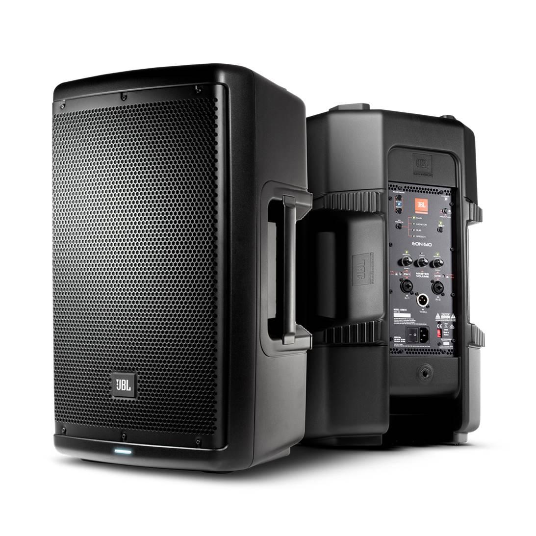 JBL EON610 DJ Speakers