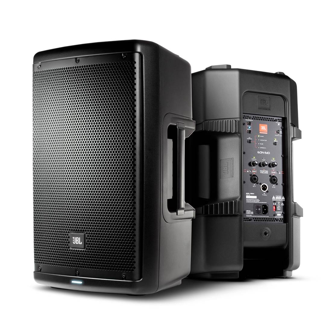 JBL EON610 Powered PA Speakers