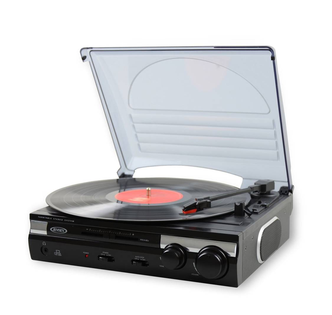 JTA-230 Jensen Vinyl Record Player