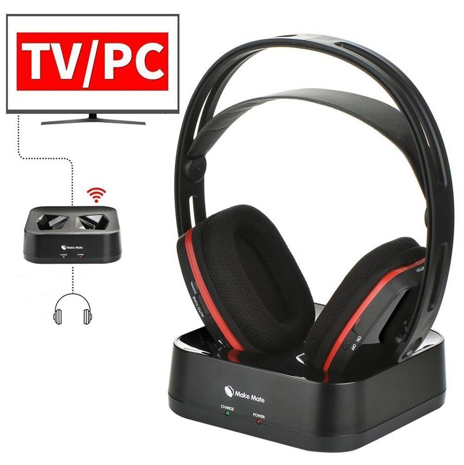 Make Mate RCH-900 Wireless Headphones for TV