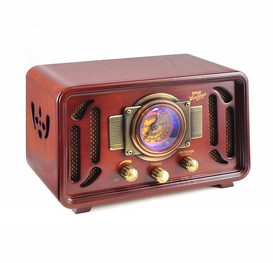 Pyle PUNP34BT Vintage Speaker