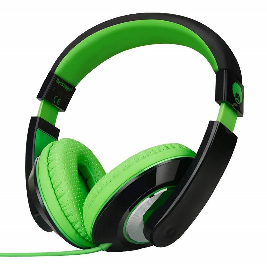 RockPapa Over Ear Stereo Headphones