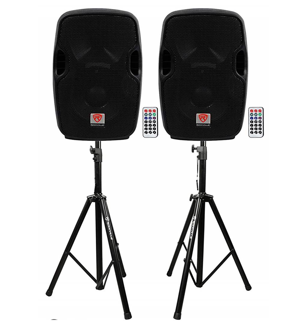 "Rockville BPA 8"" DJ Speakers"