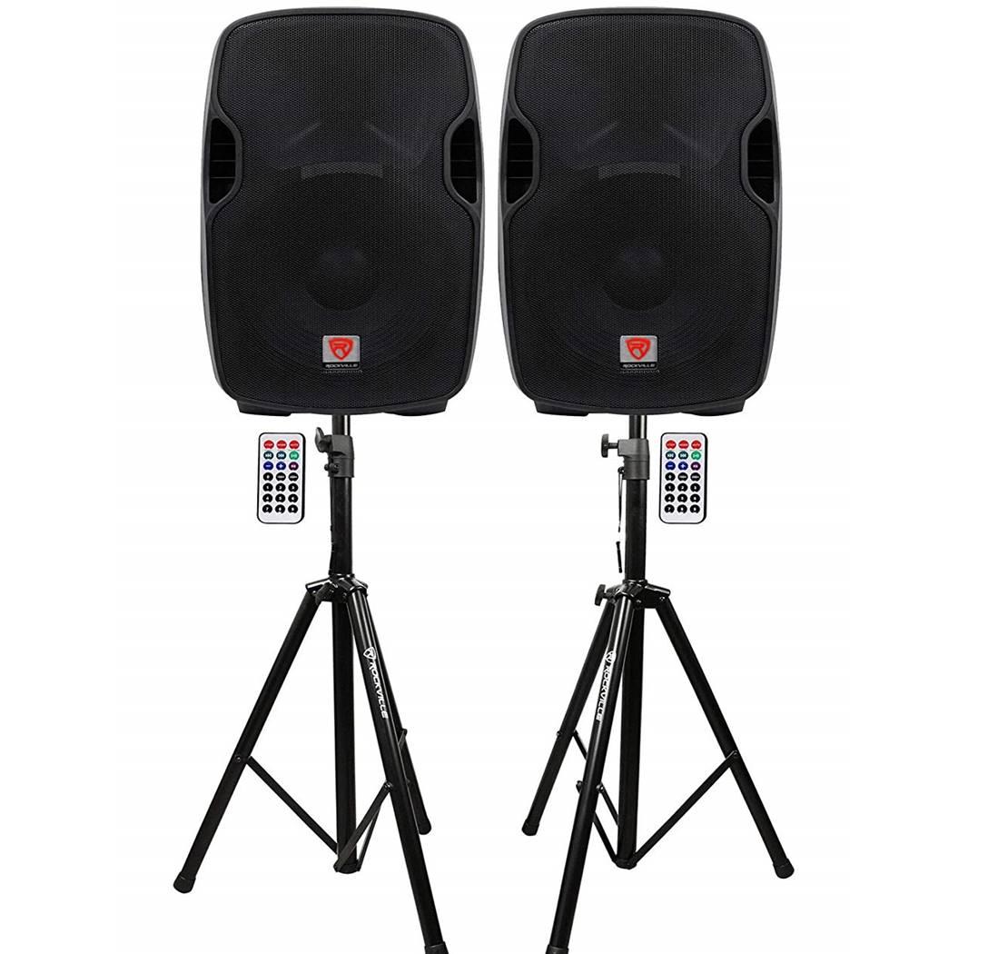 "Rockville BPA15 15"" DJ Speakers"
