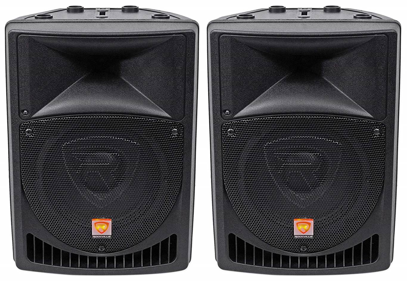 Rockville RPG15 Powered PA Speakers