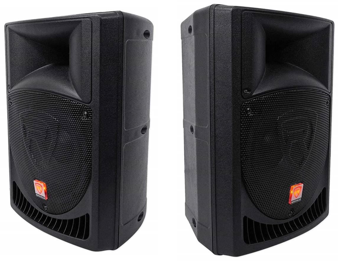 Rockville RPG8 Powered PA Speakers