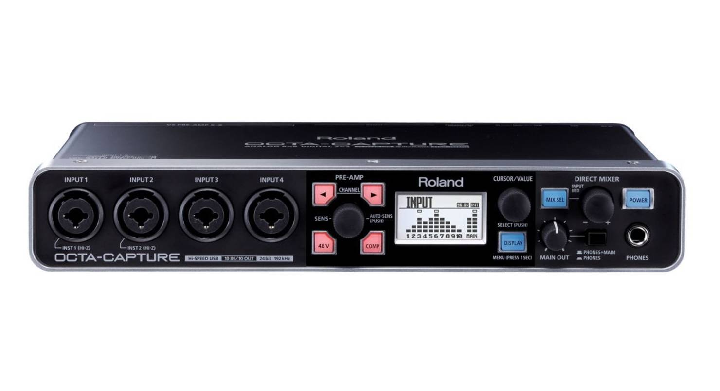 Roland OctaCapture USB Audio Interface