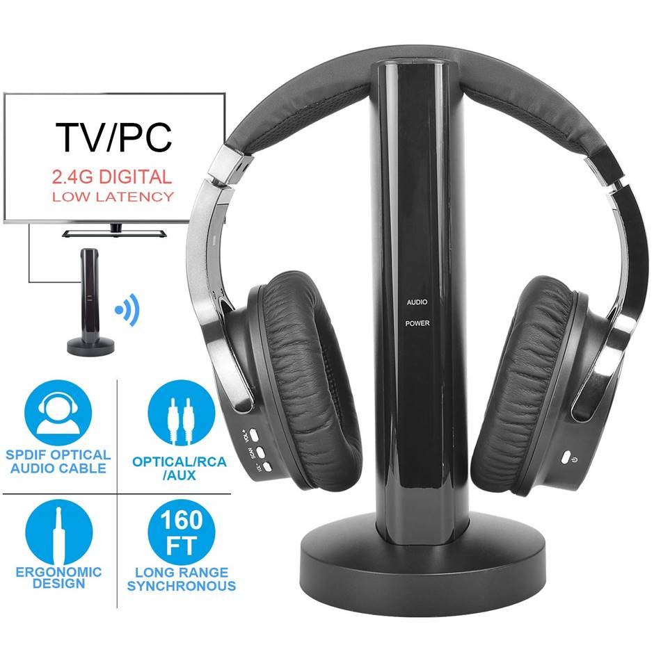 Rybozen Wireless Headphones for Samsung TV