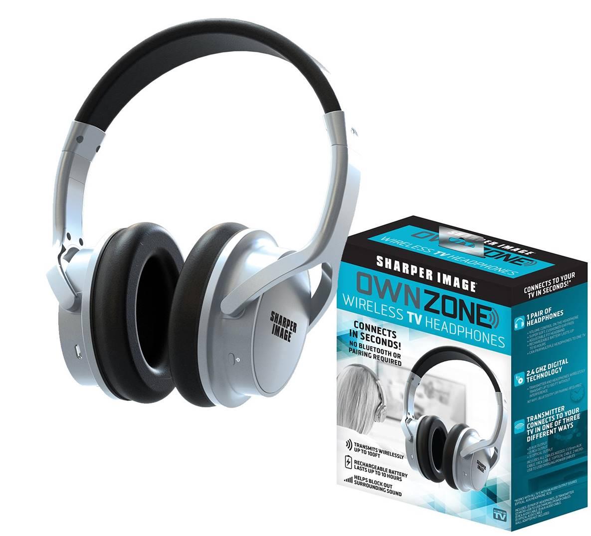 Sharper Image Wireless Headphones for TV