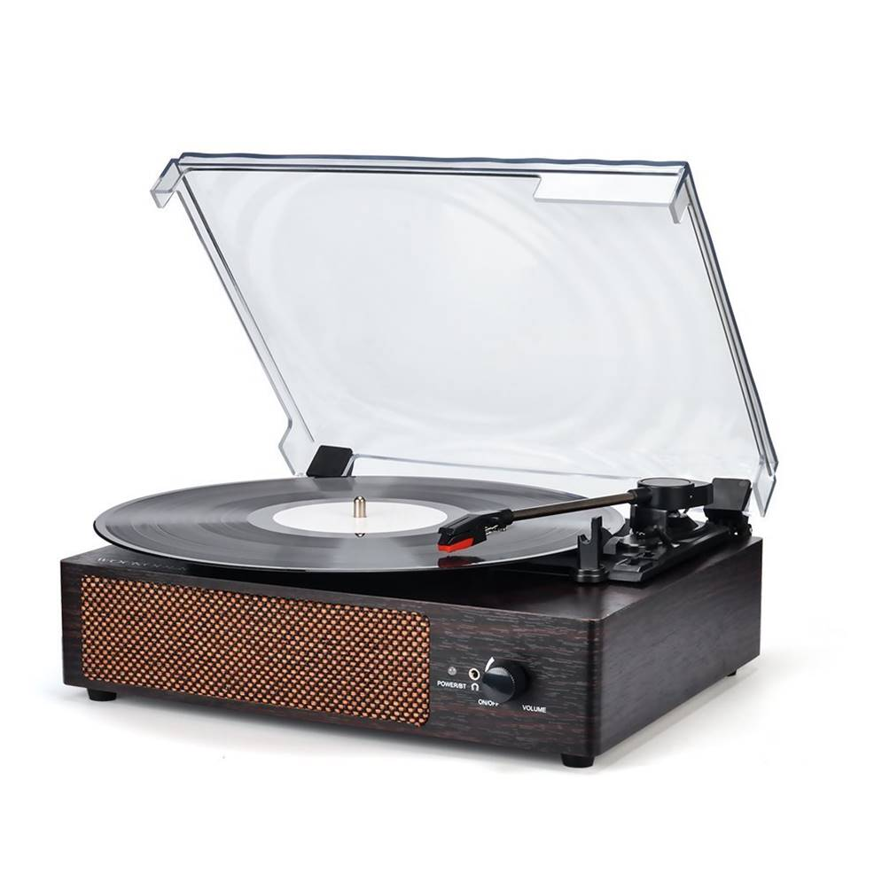 Wockoder Vinyl Record Player
