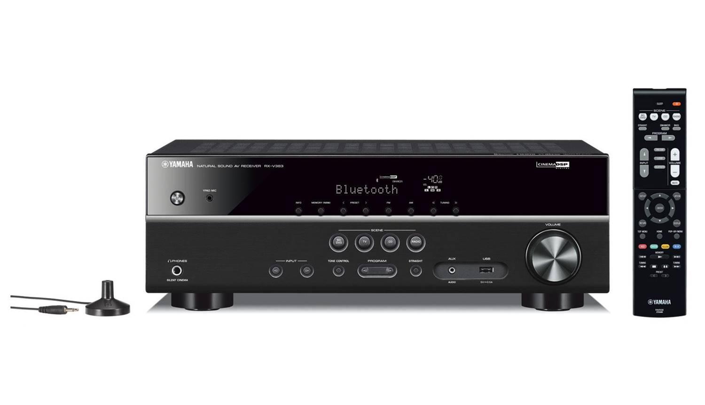 Yamaha RX-V383BL 5.1 Surround Sound Receiver