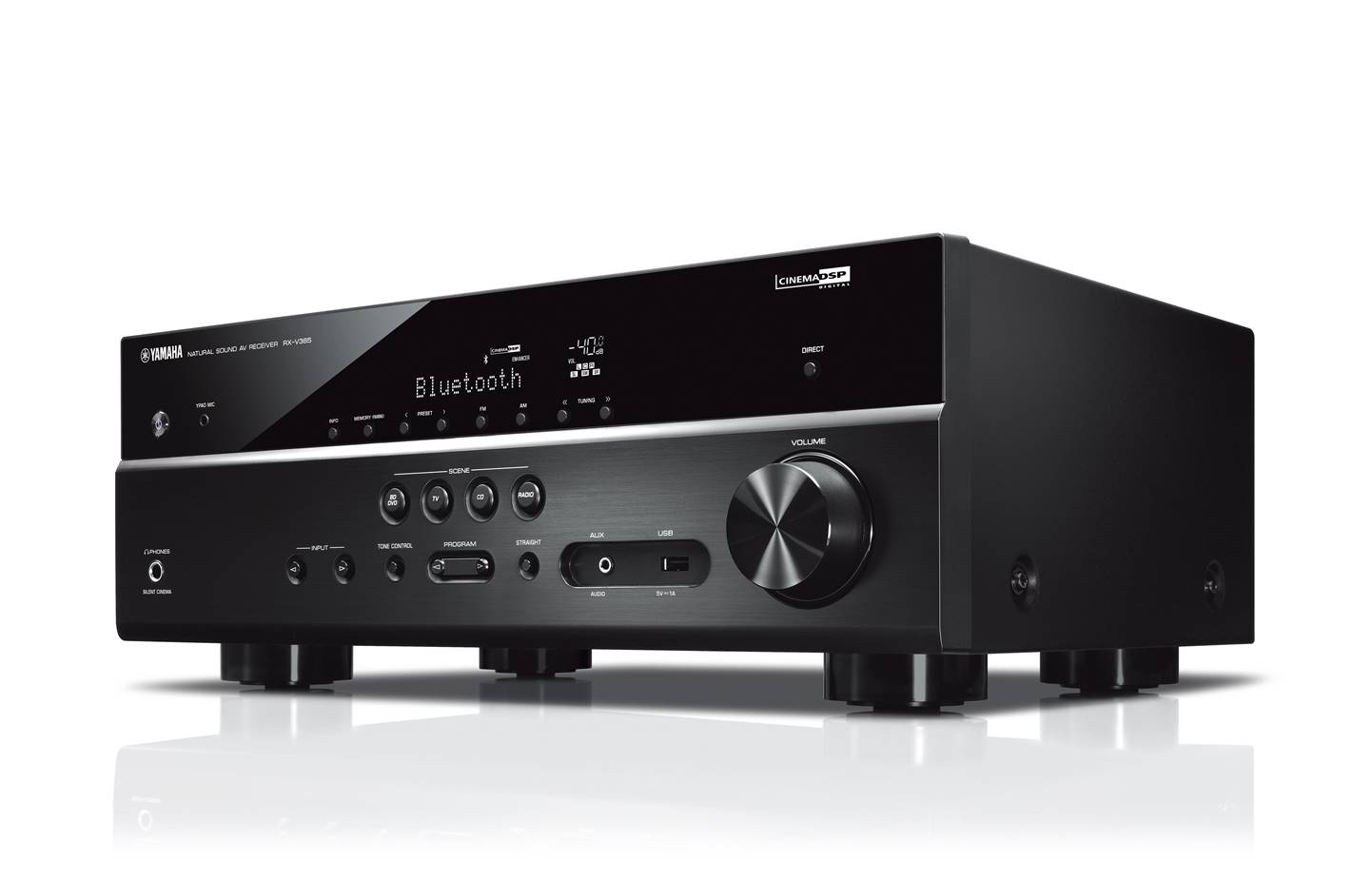 Yamaha RX-V385 AV Receiver for Home Theater