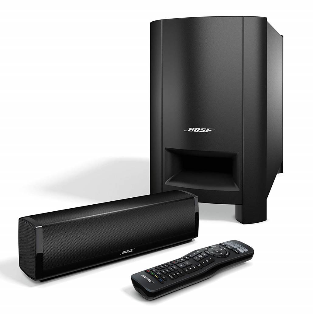 Bose CineMate 15 Soundbar with Wireless Subwoofer
