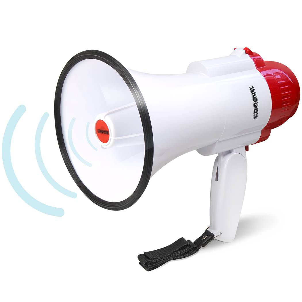 Croove Bullhorn Megaphone