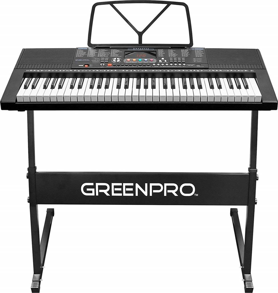 GreenPro 61 Key Best Electronic Keyboard