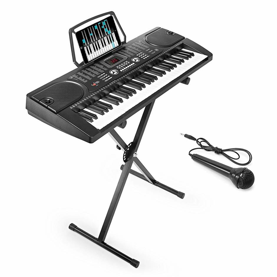 Hamzer 61-Key Best Electronic Keyboard with Stand