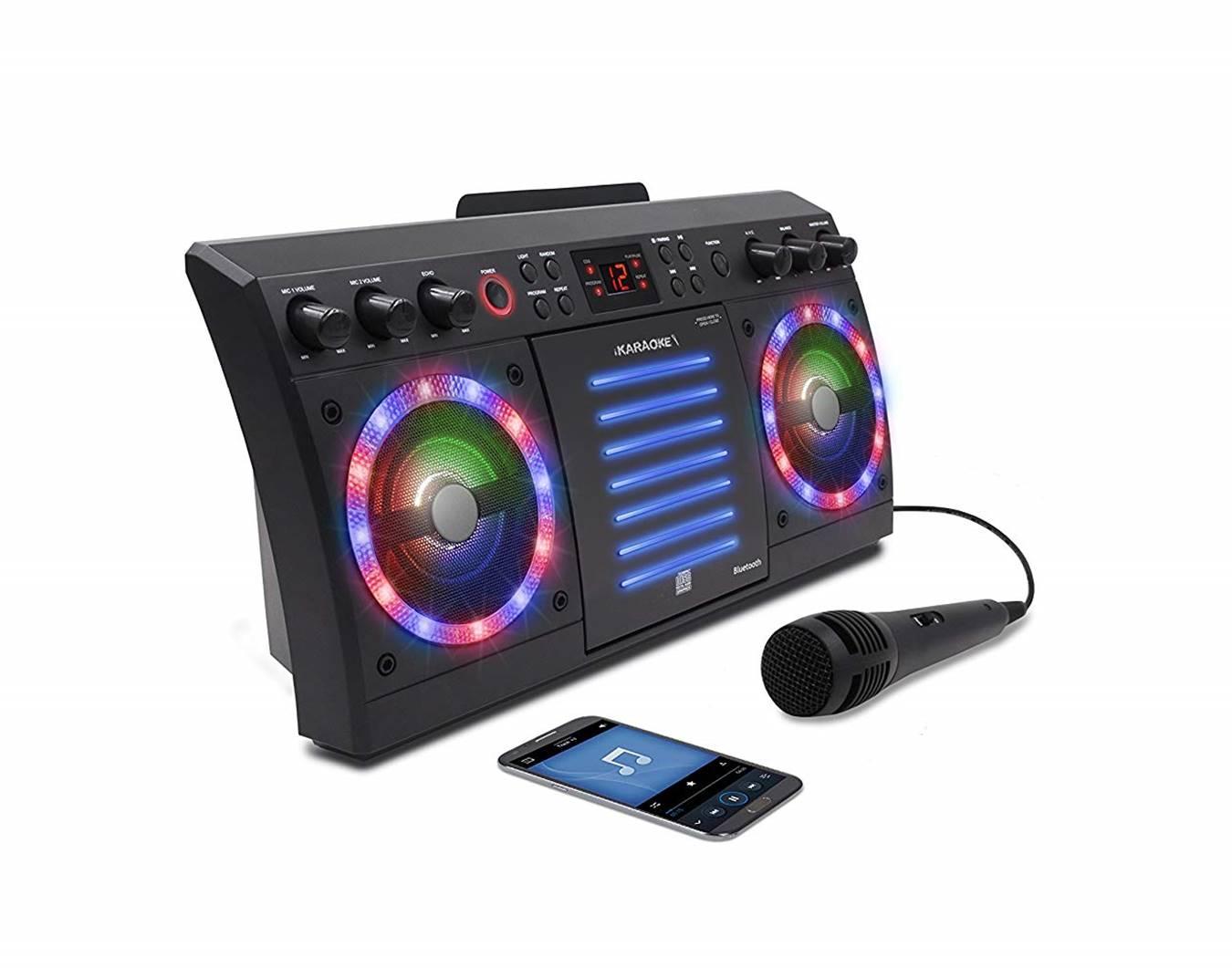 KS303BT Karaoke Machine