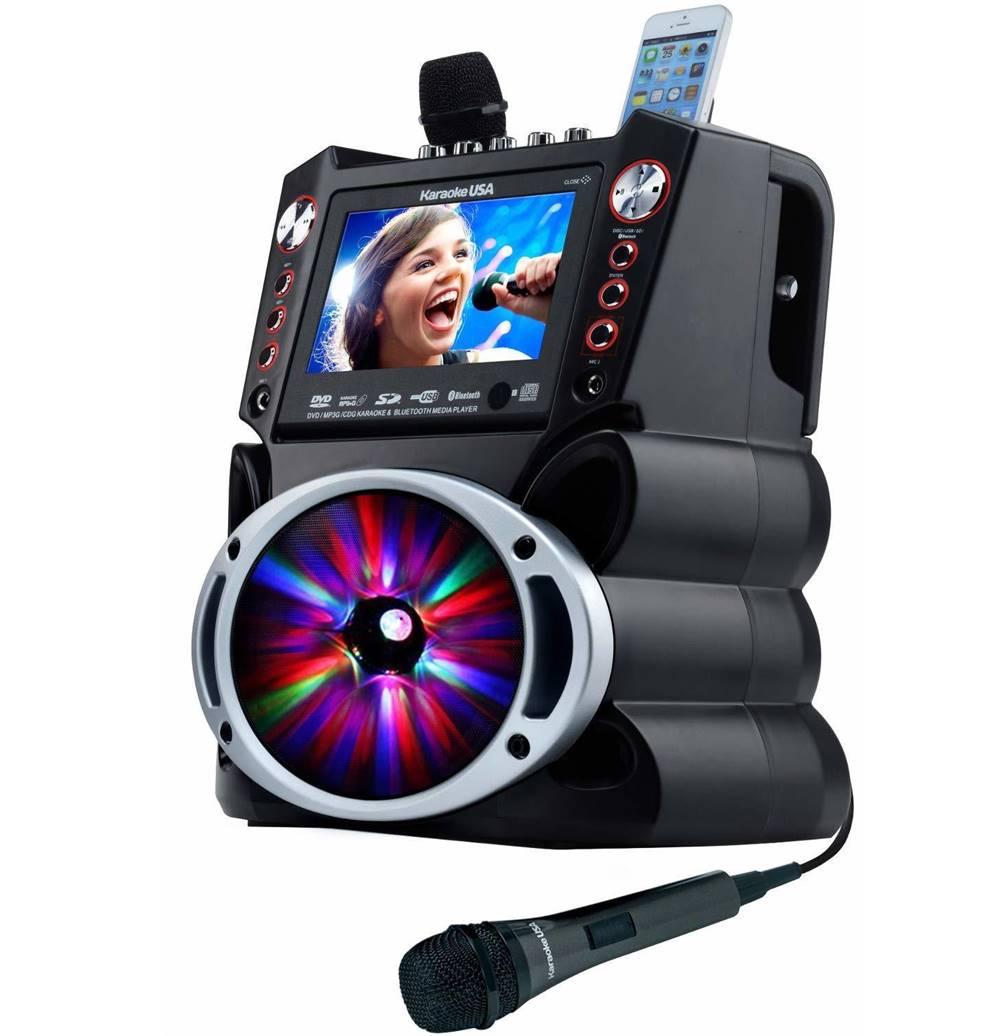 Karaoke USA GF845 Karaoke Machine
