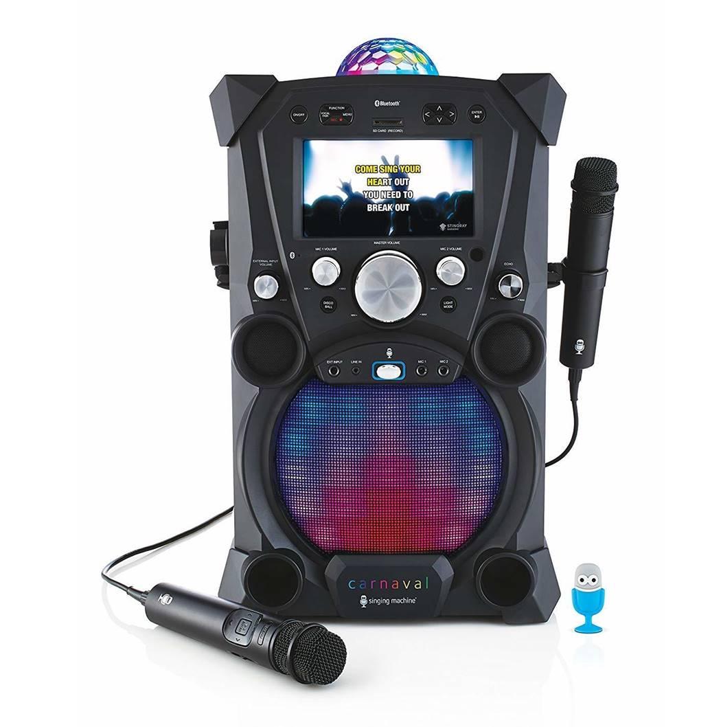 Singing Machine SDL903DB Karaoke Machine