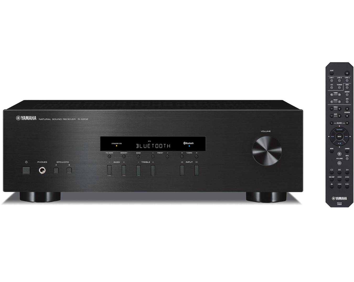 Yamaha R-S202BL Stereo Amplifier