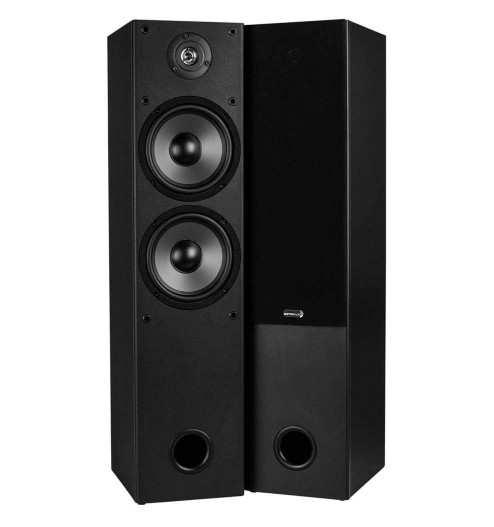 Dayton Audio T652 2-Way Floor Standing Speakers