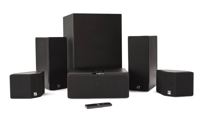 Enclave Audio CineHome 5.1 Surround Sound Speakers