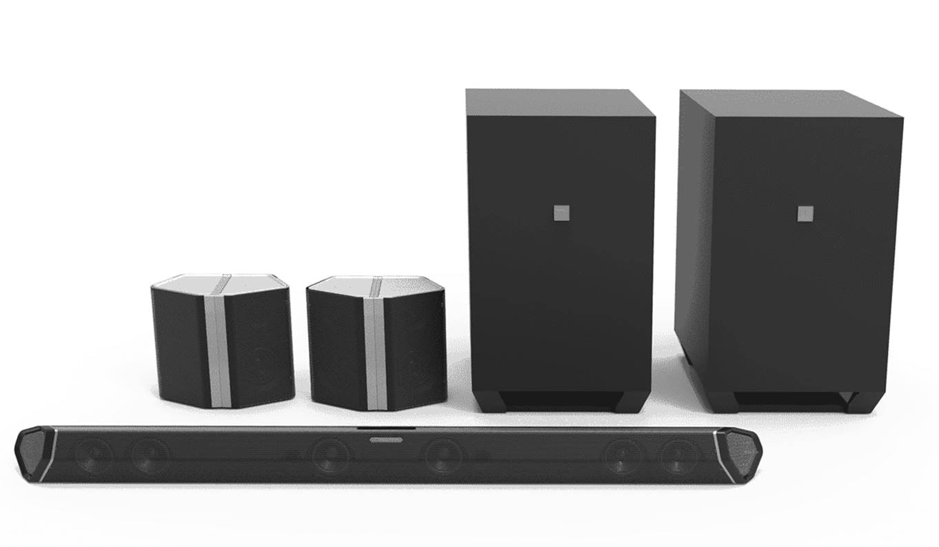 Nakamichi Shockwafe Dolby Atmos Soundbar System