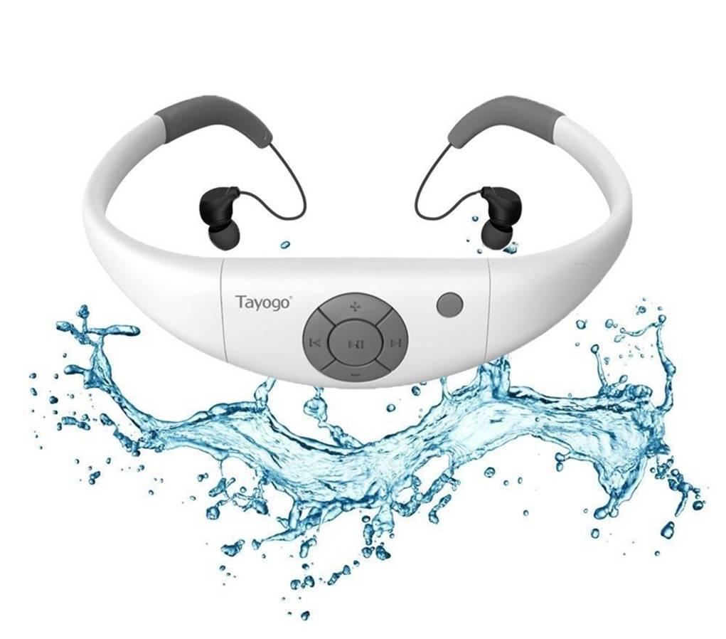 Tayogo 8G Waterproof Headphone for Swimming