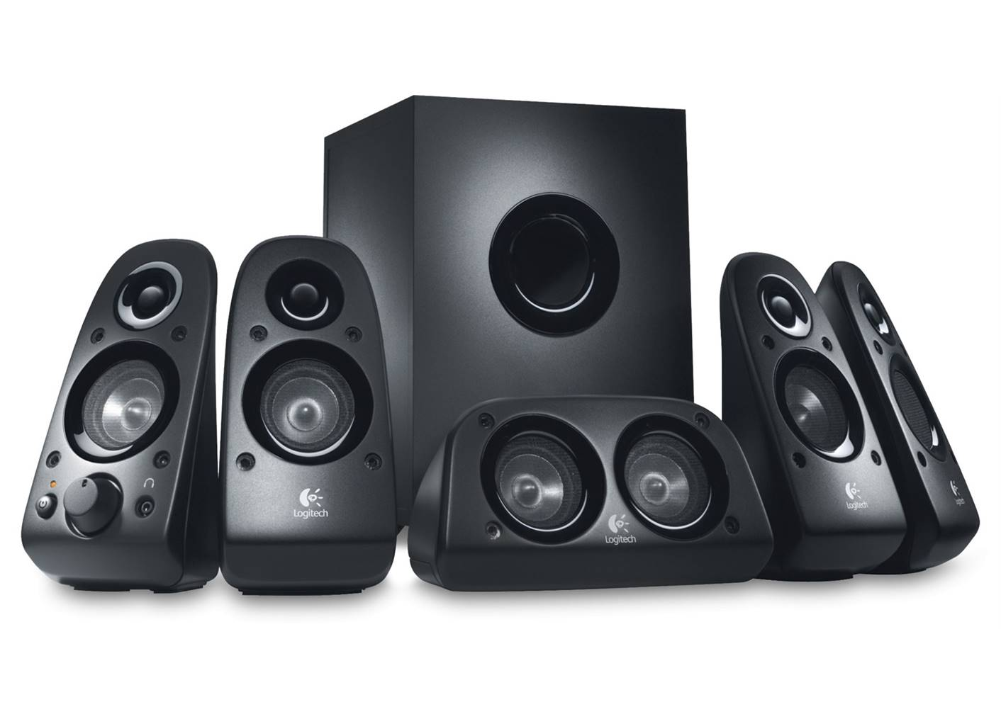 Logitech Z506 Surround Sound Home Theater Speakers