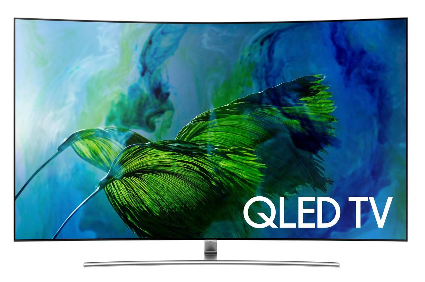 "Samsung QN75Q8C 75"" Curved TV"