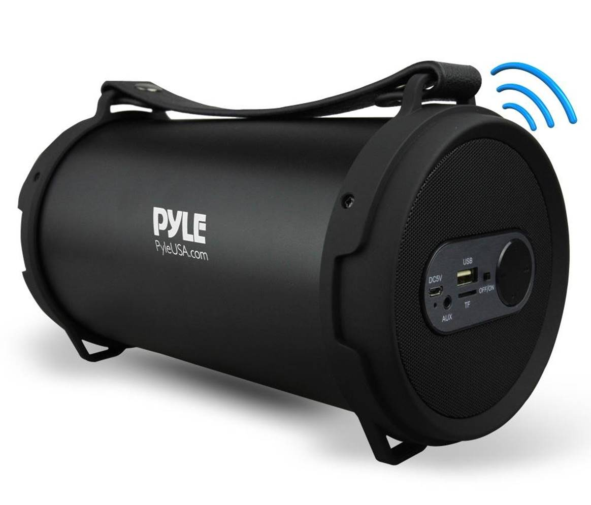 Pyle Hi-Fi Stereo Bluetooth Boombox