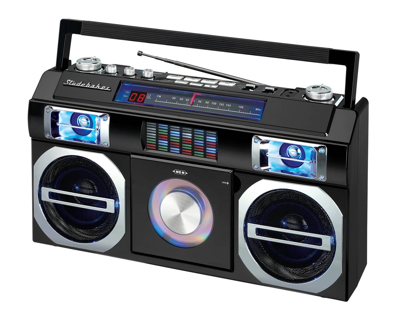 Studebaker Retro Street Bluetooth Boombox