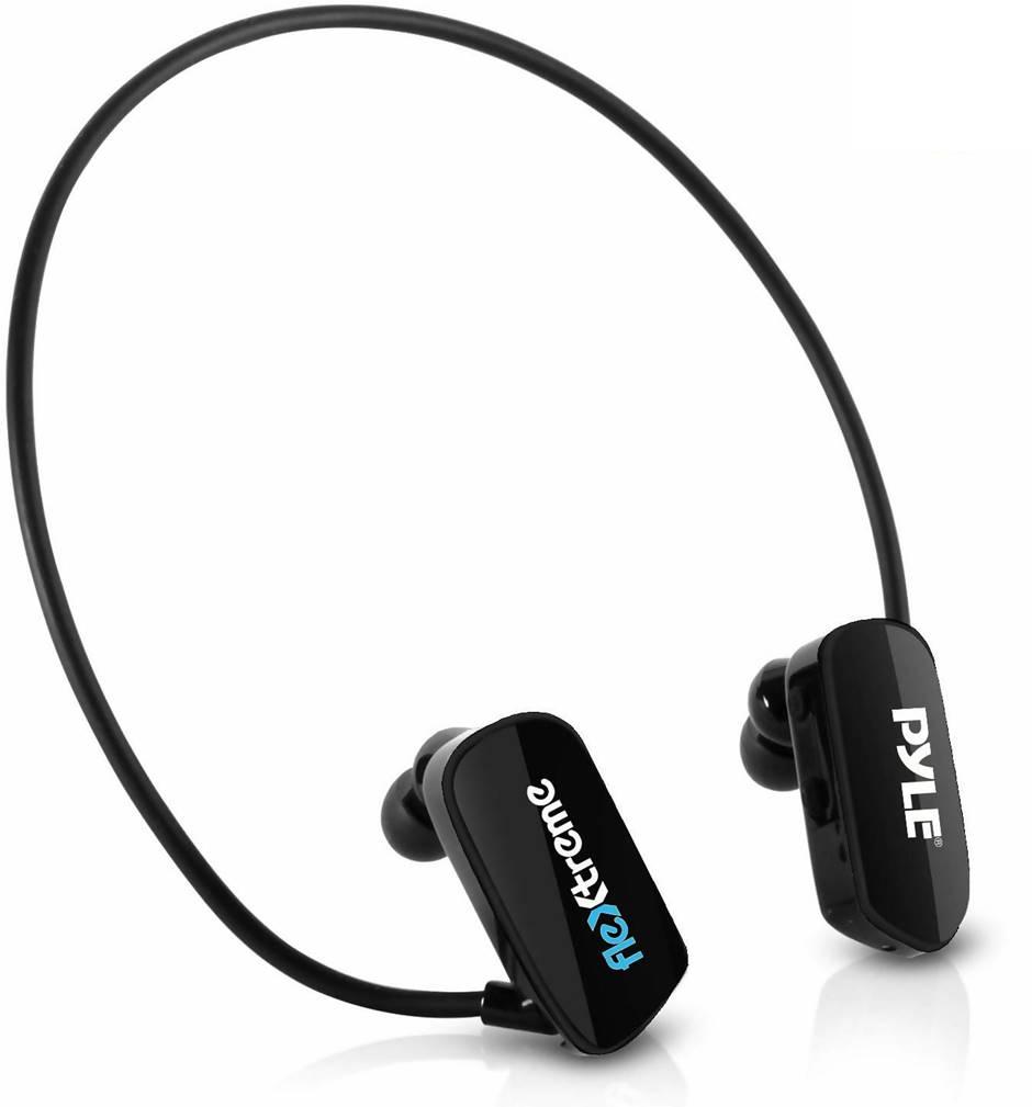 PYLE Flextreme PSWP28BK Swimming Headphone