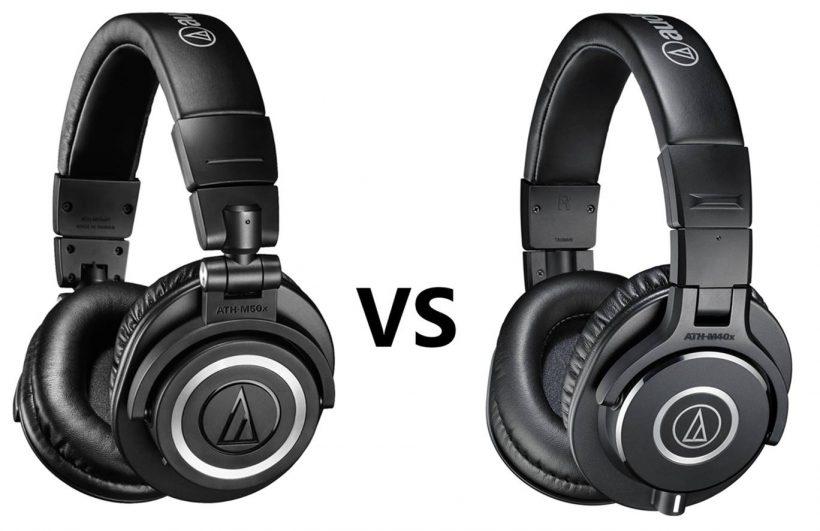 ATH M50x vs M40x