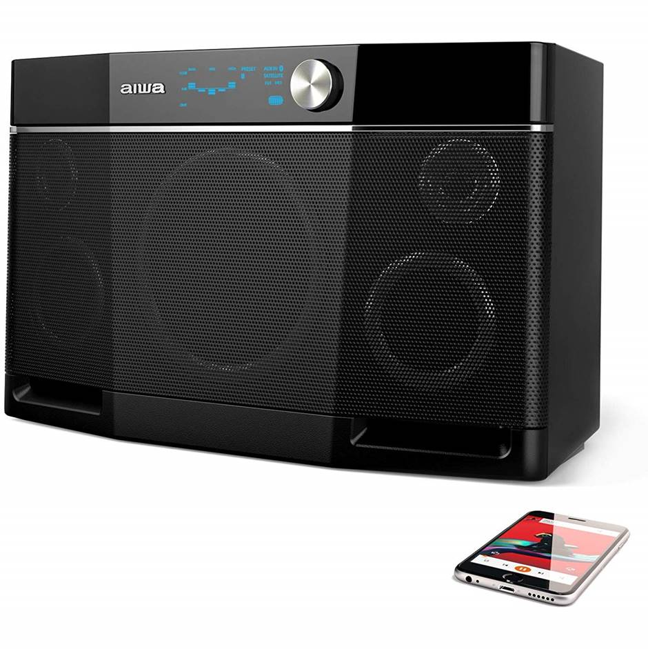 Aiwa Exos 9 Loudest Portable Bluetooth Speaker
