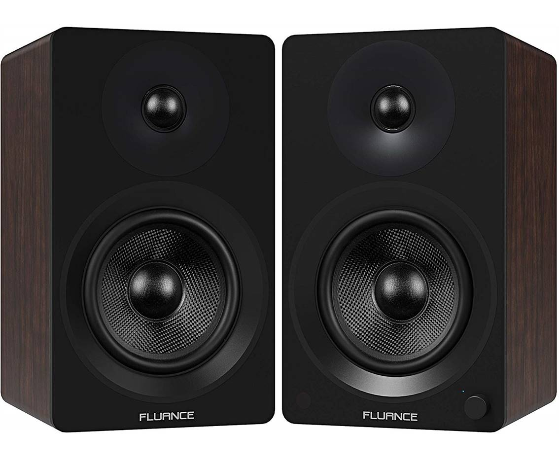 Fluance Ai60 Powered Bookshelf Speakers