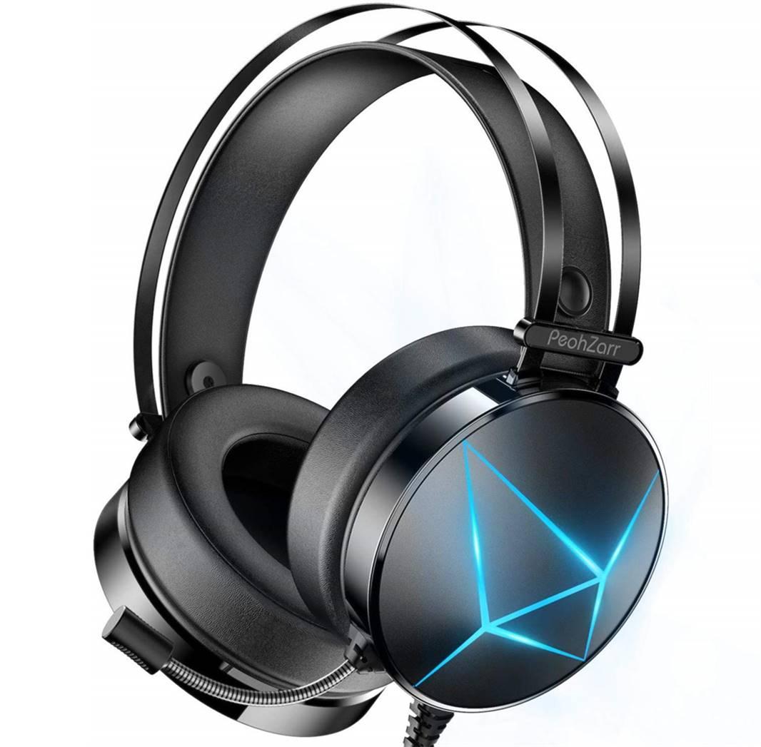 PeohZarr Headphone with Microphone