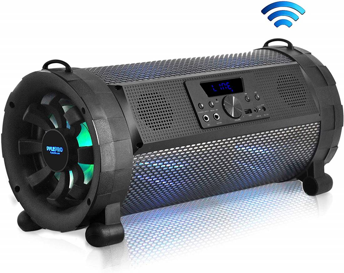 Pyle Boombox Street Blaster Loudest Bluetooth Speaker