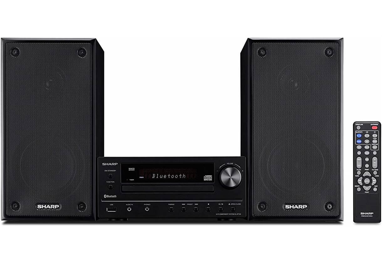 Sharp XLHF102B Stereo System
