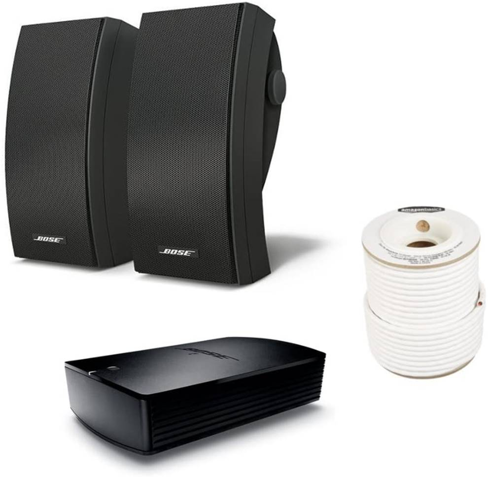 Bose 251 Environmental Speakers with Amp Combo