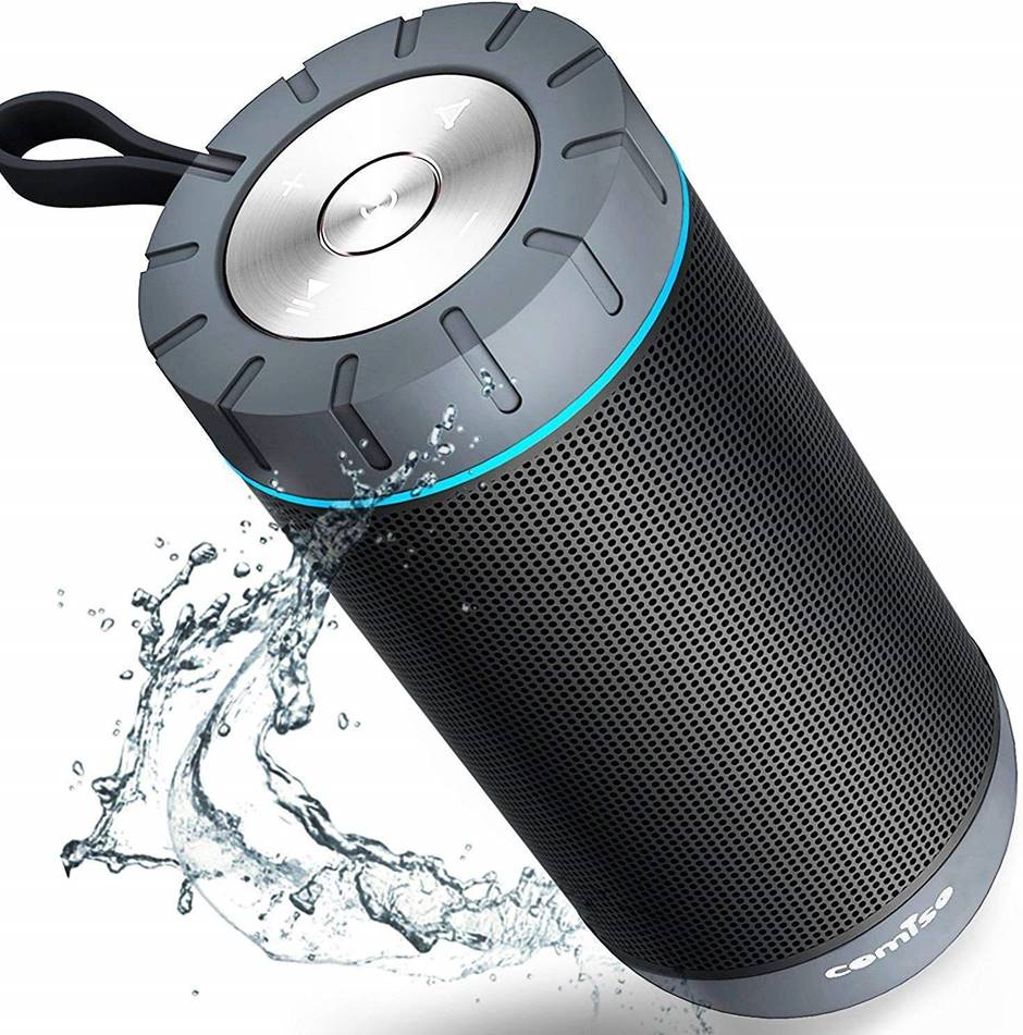 COMISO Waterproof Bluetooth Speaker