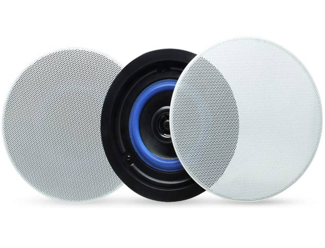 "Herdio 4"" Flush Mount Bluetooth Ceiling Speakers"