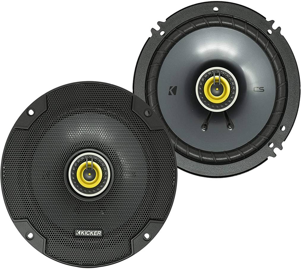 "Kicker CSC65 6.5"" Car Speakers"