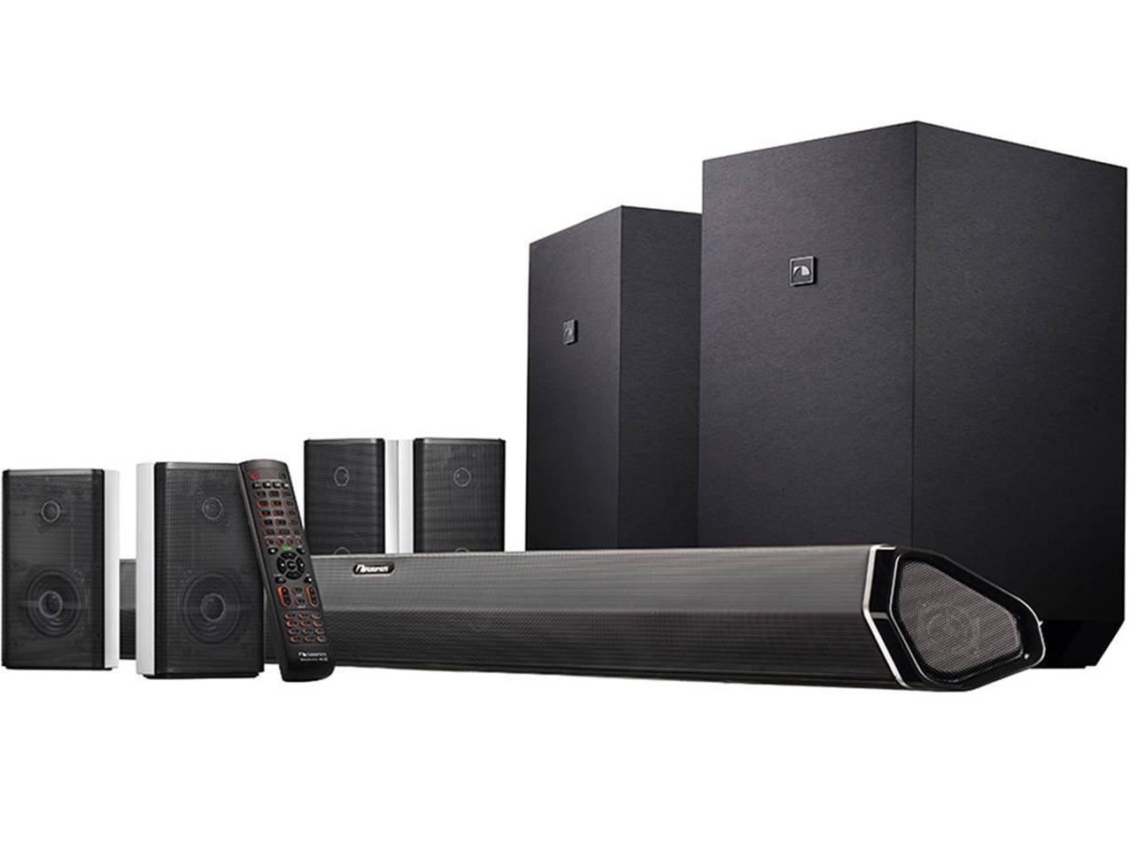 Nakamichi Shockwafe Ultra 9.2.4 Channel System