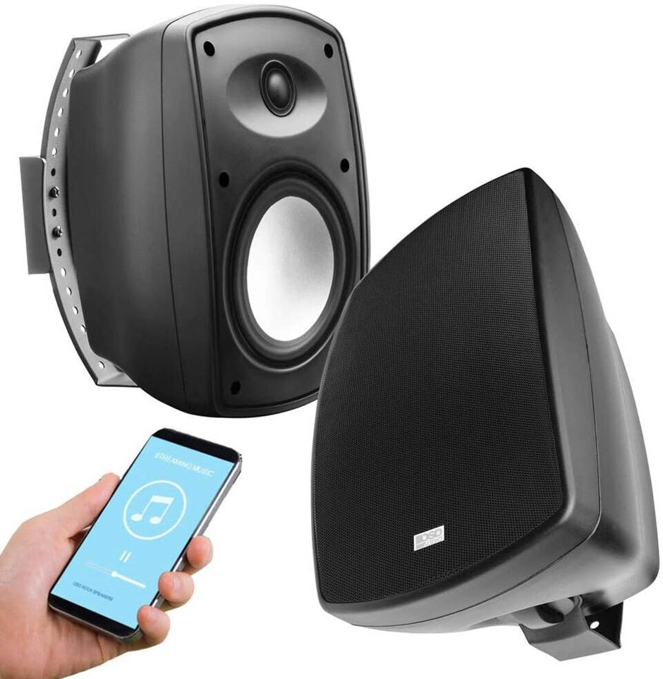 "OSD Audio 6.5"" Bluetooth Outdoor Speakers"