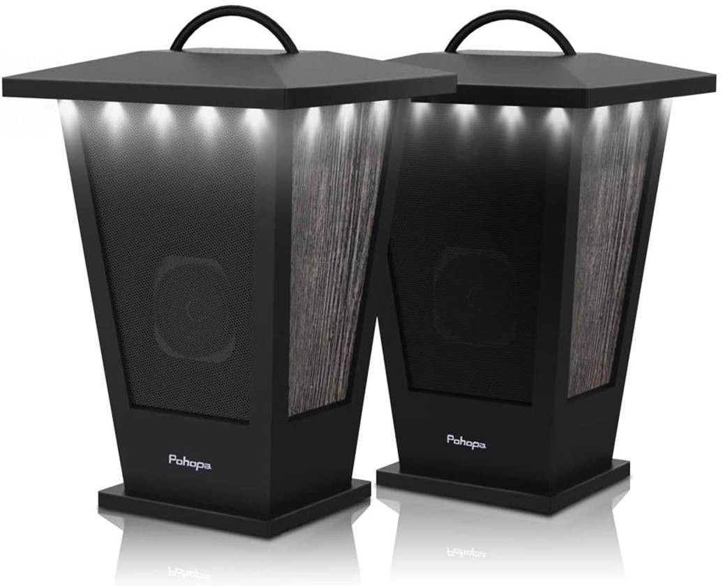 Pohopa EF-B210G Wireless Stereo Speakers