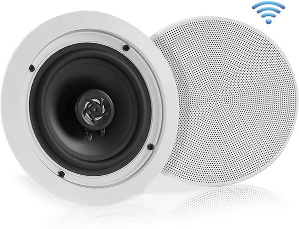"Pyle 5.25"" PDICBT552RD 150W Bluetooth Ceiling Speaker"