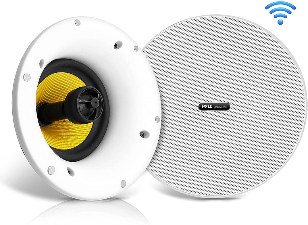 Pyle MDICWIFIB82 300W Bluetooth Ceiling Speaker