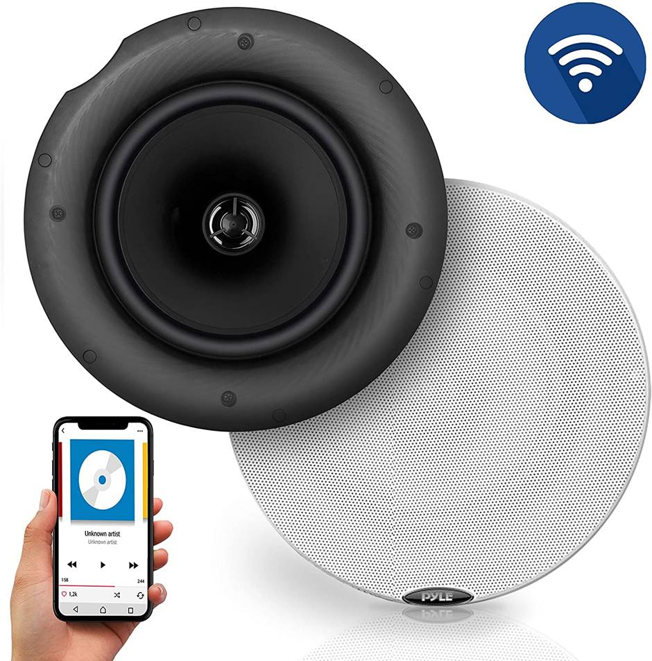 "Pyle PDICBT67 6.5"" Bluetooth Ceiling Speakers"